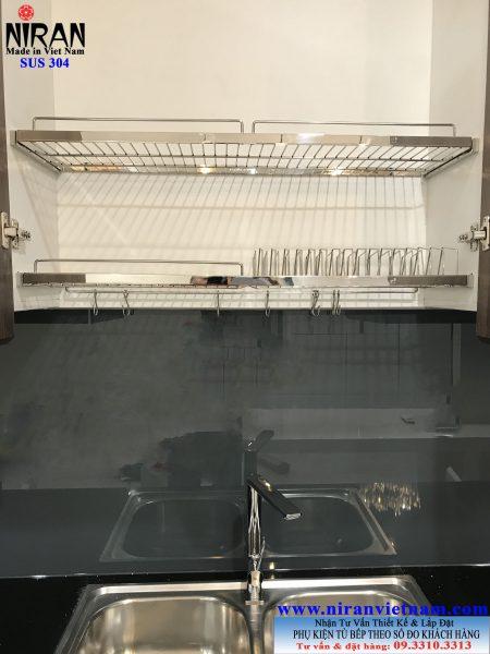 Kệ úp bát dĩa tủ trên nr0103