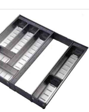 Khay chia thìa dĩa inox 304 mỏ rộng E0645E – Eurogold