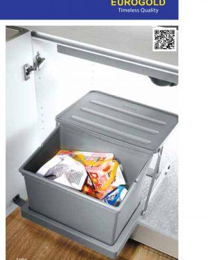 Thùng rác âm tủ E006 cao cấp – Eurogold