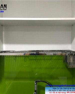 Kệ chén 1 tầng âm tủ inox 304 Niran NR0111